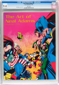Magazines:Miscellaneous, Art of Neal Adams #1 (Sal Quartuccio, 1975) CGC NM 9.4 Whitepages....