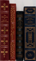 Books:Religion & Theology, [Religion]. Group of Four Later Edition Books Published by Easton Press. Mild shelfwear. One with bookplate. Overall fine.... (Total: 4 Items)
