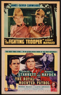 "Movie Posters:Adventure, The Royal Mounted Patrol and Other Lot (Columbia, 1941). TitleLobby card and Lobby Card (11"" X 14""). Adventure.. ... (Total: 2Items)"