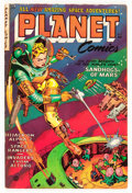 Golden Age (1938-1955):Science Fiction, Planet Comics #71 (Fiction House, 1953) Condition: VG....