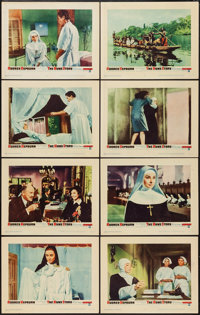 "The Nun's Story (Warner Brothers, 1959). Lobby Card Set of 8 (11"" X 14""). Drama. ... (Total: 8 Items)"