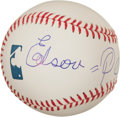 Miscellaneous Collectibles:General, Edson Pele Single Signed Baseball....
