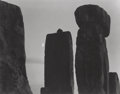 Photographs:20th Century, PAUL CAPONIGRO (American, b. 1932). Stonehenge (Half Moon),circa 1970. Gelatin silver, printed later. 6-1/2 x 8-1/4 inc...
