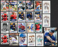 Baseball Cards:Autographs, Texas Rangers Stars Signed Cards Lot of 23....