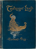 Books:Literature Pre-1900, Howard Pyle. Twilight Land. Osgood, McIlvaine, 1896. Minorrubbing to decorated cloth with a leaning spine. Scho...