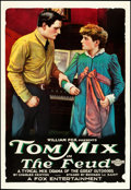"""Movie Posters:Western, The Feud (Fox, 1919). One Sheet (27"""" X 41"""") Style A. Western.. ..."""