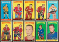 Hockey Cards:Lots, 1965 Topps Hockey Collection (30 different). ...