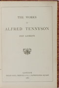Books:Literature Pre-1900, Alfred Tennyson. The Works of Alfred Tennyson. Kegan Paul,Trench, 1881. Contemporary red morocco with some ligh...