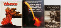 Books:Natural History Books & Prints, [Volcanoes]. Group of Three Related Books. Various publishers. Very good.... (Total: 3 Items)