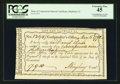 Colonial Notes:Connecticut, Connecticut Fiscal Paper Interest Certificate Hartford, CT PCGSExtremely Fine 45.. ...
