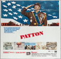 "Movie Posters:War, Patton (20th Century Fox, 1970). Six Sheet (77"" X 78""). War.. ..."