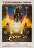 "Movie Posters:Adventure, Raiders of the Lost Ark (Paramount, 1981). Italian 2 - Foglio (39""X 55""). Adventure.. ..."
