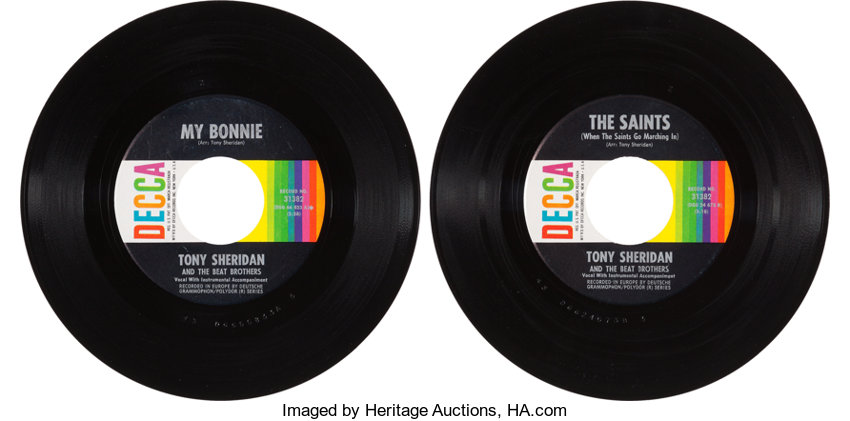 One of the Rarest Beatles Records -