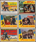 "Movie Posters:War, The Red Badge of Courage & Others Lot (MGM, 1951). Title LobbyCards (2) & Lobby Cards (4) (11"" X 14""). War.. ... (Total: 6Items)"