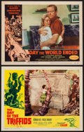 "Movie Posters:Science Fiction, The Day of the Triffids & Other Lot (Allied Artists, 1962).Lobby Cards (2) (11"" X 14""). Science Fiction.. ... (Total: 2 Items)"