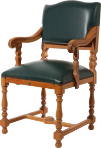 """A Prop Dining Room Chair from """"Titanic."""""""