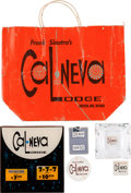 Movie/TV Memorabilia:Memorabilia, A Frank Sinatra-Related Group of Ephemera from The Cal-Neva Lodge,Circa 1960s.... (Total: 6 Items)