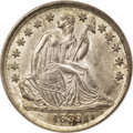 Seated Dimes: , 1839-O 10C No Drapery MS65 PCGS. The strike is needle-sharp, everynuance of Liberty's head, the stars, and all the obverse...