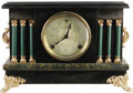 "Movie/TV Memorabilia:Props, ""Dark Shadows"" Prop Mantle Clock. The Gothic soap opera DarkShadows, took a direction (at the time) by introducing supe...(Total: 1 Item)"