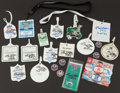 Football Collectibles:Others, Larry Little Signed Badges, Passes and More Lot of 20+....