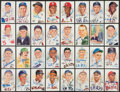 Baseball Collectibles:Others, Baseball Greats Signed Perez Steele Postcards Lot of 32....