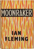 Books:Mystery & Detective Fiction, Ian Fleming. Moonraker. London: Jonathan Cape, [1955]. Firstedition, first printing. Signed and inscribed by Flem...
