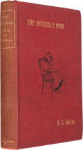 Books:Science Fiction & Fantasy, H. G. Wells. The Invisible Man. London: 1897. Firstedition....