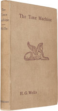 Books:Science Fiction & Fantasy, H. G. Wells. The Time Machine. An Invention. London:William Heinemann, 1895. First English edition of Wells' fi...