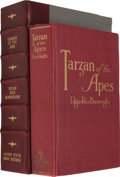 "Books:Fiction, Edgar Rice Burroughs. Tarzan of the Apes. Chicago: McClurg,1914. First edition, rare second state with ""Acorn"" on s..."