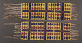 American Indian Art:Beadwork and Quillwork, A PAIR OF POTAWATOMIE LOOM-BEADED GARTERS...