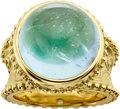 Estate Jewelry:Rings, Aquamarine, Gold Ring, Cynthia Bach. ...