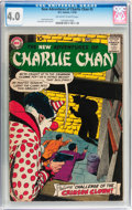 Silver Age (1956-1969):Mystery, The New Adventures of Charlie Chan #5 (DC, 1959) CGC VG 4.0Off-white to white pages....