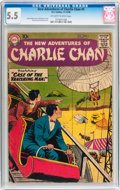 Silver Age (1956-1969):Mystery, The New Adventures of Charlie Chan #4 (DC, 1958) CGC FN- 5.5Off-white to white pages....