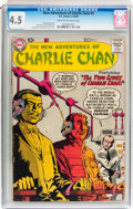 Silver Age (1956-1969):Mystery, The New Adventures of Charlie Chan #3 (DC, 1958) CGC VG+ 4.5 Creamto off-white pages....