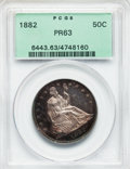 Proof Seated Half Dollars, 1882 50C PR63 PCGS....