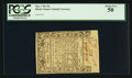 Colonial Notes:Rhode Island, Rhode Island May 1786 20s PCGS About New 50.. ...