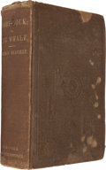 Books:Literature Pre-1900, Herman Melville. Moby-Dick; or, The Whale. New York: Harper& Brothers, 1851. First American edition. ...