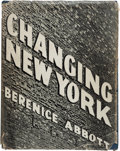 Books:Photography, [Photography]. [Berenice Abbott, photographer]. ElizabethMcCausland. Changing New York. New York: E. P. Dutton &Co...