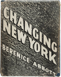 [Photography]. [Berenice Abbott, photographer]. Elizabeth McCausland. Changing New York. New Yo
