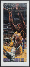 Basketball Collectibles:Others, Shaquille O'Neal Original Print By Artist Opie Otterstad....