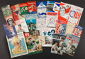 Baseball Collectibles:Publications, Vintage Baseball And Football Publications lot of 40+. ...