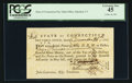 Colonial Notes:Connecticut, Connecticut Fiscal Paper Pay Table Office PCGS Extremely Fine 45.....
