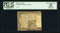 Colonial Notes:Connecticut, Connecticut May 10, 1775 10s Slit Cancel PCGS Apparent Choice AboutNew 55.. ...