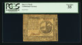 Colonial Notes:Continental Congress Issues, Continental Currency May 9, 1776 $2 PCGS Very Fine 35.. ...