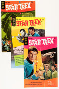 Silver Age (1956-1969):Science Fiction, Star Trek #1-4 Group (Gold Key, 1967-69) Condition: AverageFN/VF.... (Total: 4 Comic Books)