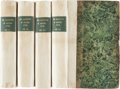 Books:Literature Pre-1900, Ann Radcliffe. Mysteries of Udolpho, a Romance;Interspersed with Some Pieces of Poetry. London: Printed for G.... (Total: 4 Items)