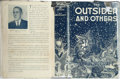 Books:Horror & Supernatural, H. P. Lovecraft. The Outsider and Others. Collected byAugust Derleth and Donald Wandrei. Sauk City: Arkham House, 1...
