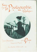 Books:Photography, [French Photographic Journals]. Group of Three Volumes, including: C. Puyo. Notes sur la Photographic Artistique.... (Total: 3 Items)