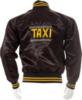 "Movie/TV Memorabilia:Costumes, A Crew Jacket from ""Taxi.""..."