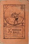 Books:Americana & American History, Isaac George Reed. The Russian Ball. Carleton, 1863.Publisher's wrappers with toning and wear. 32 pages and ads. Sp...